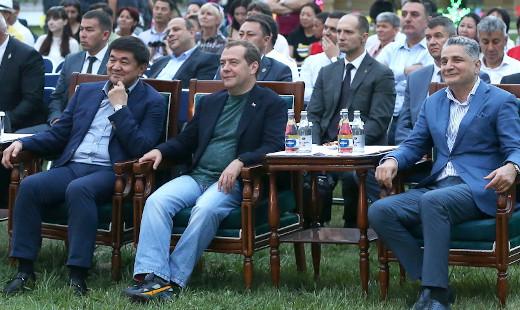 Кой-Таш не отразился на Иссык-Куле. Встреча премьеров стран ЕАЭС прошла на исключительно благоприятном фоне